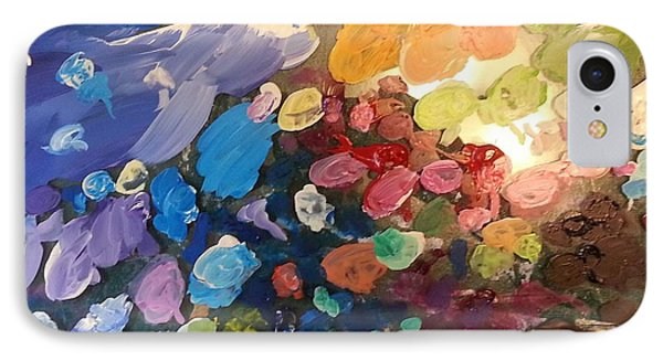 IPhone Case featuring the painting Magnetic Paint Palette by Tanielle Childers