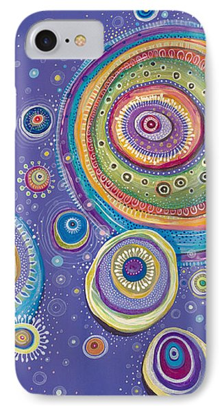 IPhone Case featuring the painting Magnetic by Tanielle Childers