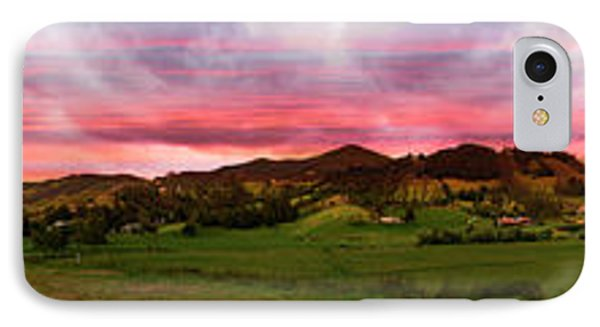 Magnificent Andes Valley Panorama Phone Case by Al Bourassa