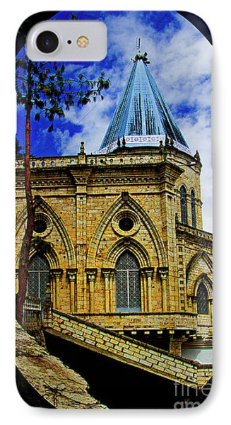 IPhone Case featuring the photograph Magnificent Church Of Biblian by Al Bourassa