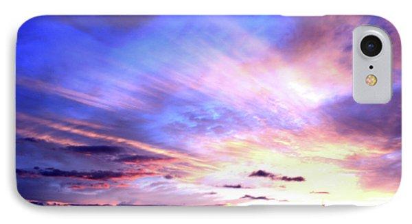 Magnificent Sunset IPhone Case by Karen Nicholson