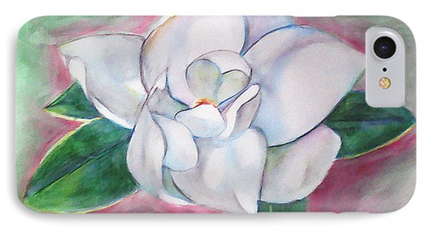 Magnolia 2 Phone Case by Loretta Nash