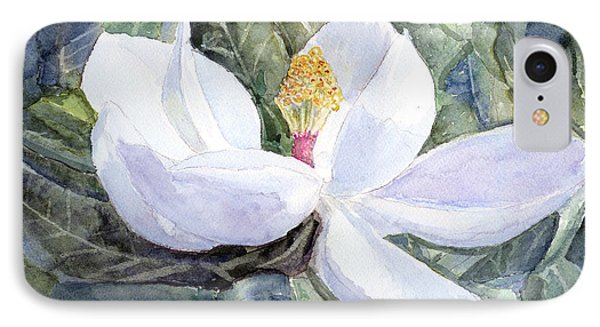 Magnolia Blossom IPhone Case by Barry Jones
