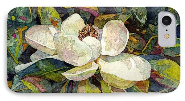 Magnolia Blossom IPhone Case by Hailey E Herrera