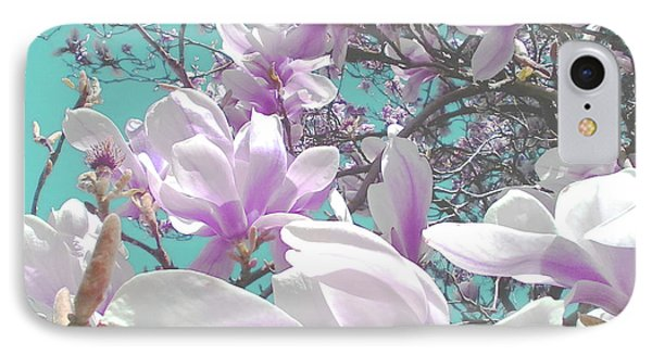 IPhone Case featuring the photograph Magnolia Charm by Rebecca Harman