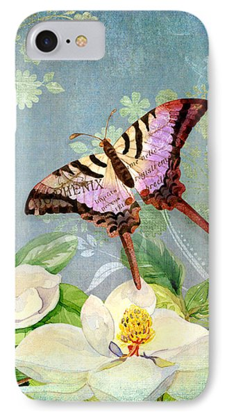 Magnolia Dreams  IPhone Case by Audrey Jeanne Roberts