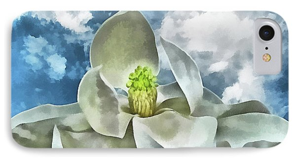 Magnolia Dreams Phone Case by Wendy J St Christopher