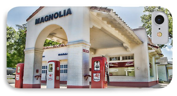 Magnolia Gas - Little Rock IPhone Case by Stephen Stookey