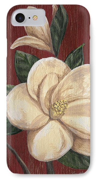 Magnolia II IPhone Case by April Moen