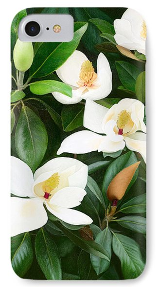 Magnolia IPhone Case by Ilgvars Rauda