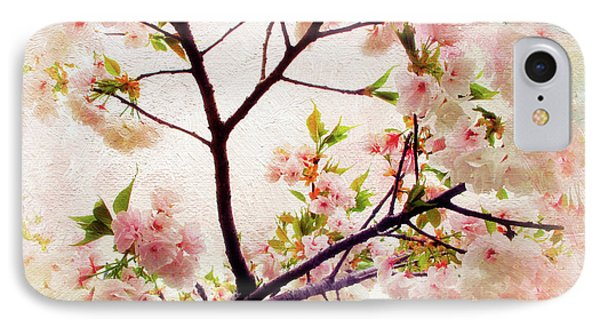 IPhone 7 Case featuring the photograph Asian Cherry Blossoms by Jessica Jenney