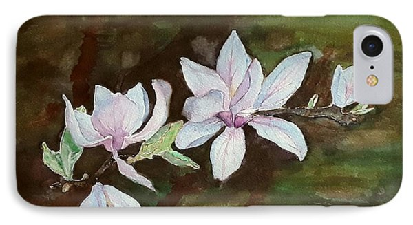 Magnolia - Painting  IPhone Case