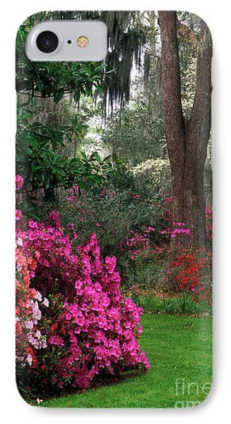 IPhone Case featuring the photograph Magnolia Plantation - Fs000148a by Daniel Dempster
