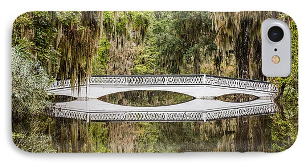 Magnolia Plantation Gardens Bridge IPhone Case