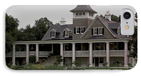 Magnolia Plantation Home IPhone Case by DigiArt Diaries by Vicky B Fuller