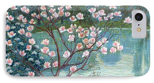 Magnolia IPhone Case by Wilhelm List