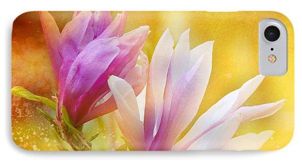 Magnolias Phone Case by Elaine Manley