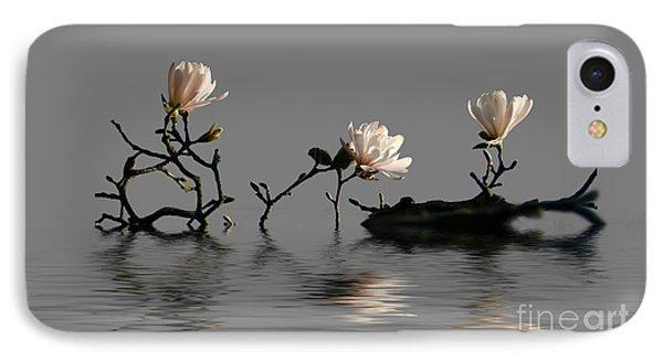 Magnolias IPhone Case by Jim  Hatch