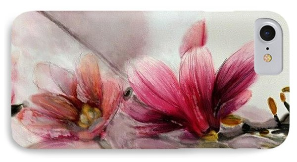 Magnolien .... IPhone Case by Jacqueline Schreiber