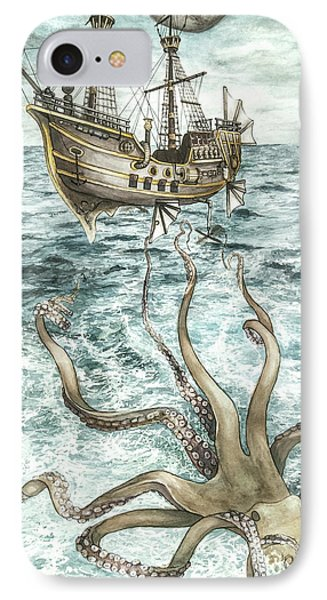 Maiden Voyage IPhone Case by Arleana Holtzmann