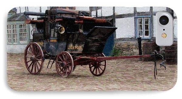 Mail Coach At Lacock IPhone Case by Paul Gulliver