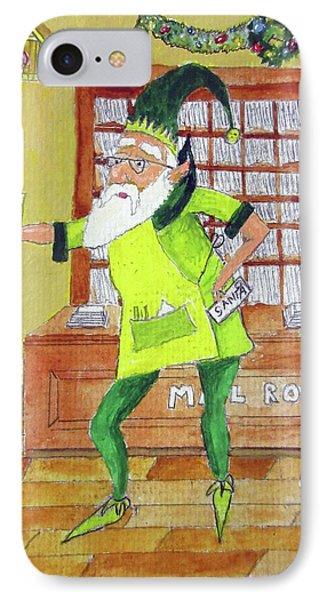 Mail Elf IPhone Case by Gordon Wendling