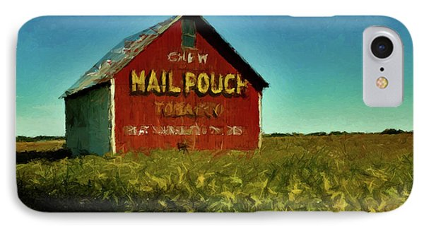 Mail Pouch Barn P D P IPhone Case by David Dehner