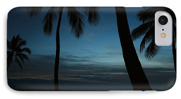 Ma'ili Beach After Sunset IPhone Case