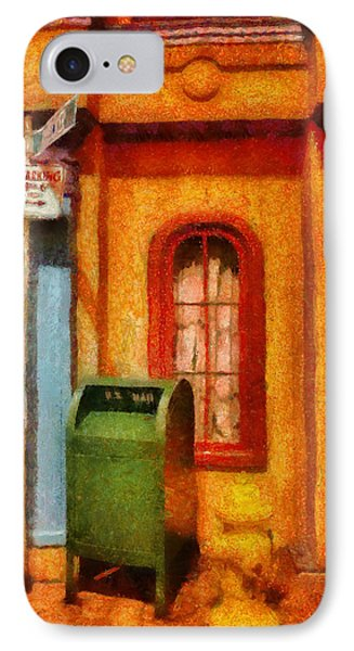 Mailman - No Parking Phone Case by Mike Savad
