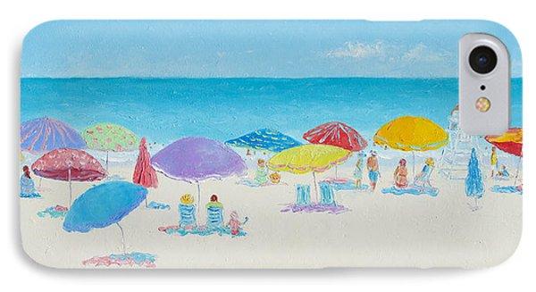 Main Beach East Hampton  IPhone Case by Jan Matson
