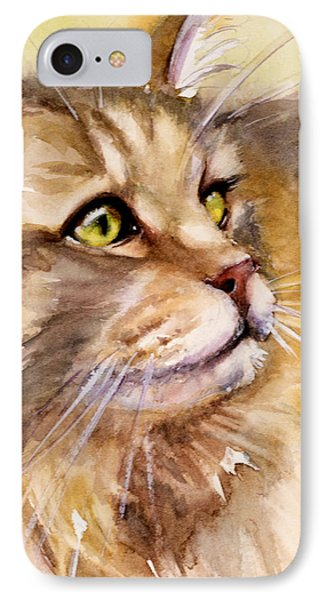 Main Coon IPhone Case by Judith Levins