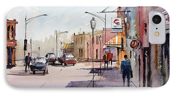 Main Street - Wautoma Phone Case by Ryan Radke