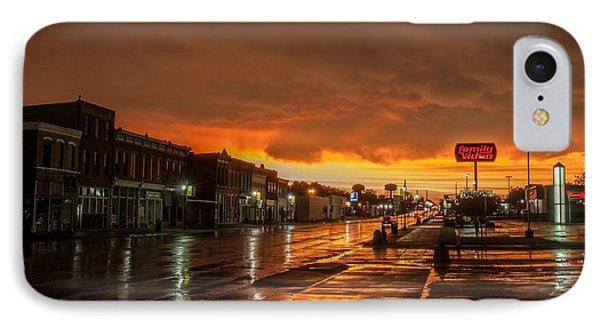Main Street IPhone Case by Joe Scott