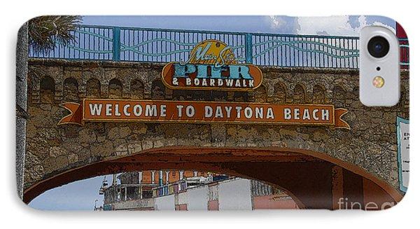 Main Street Pier And Boardwalk Phone Case by David Lee Thompson