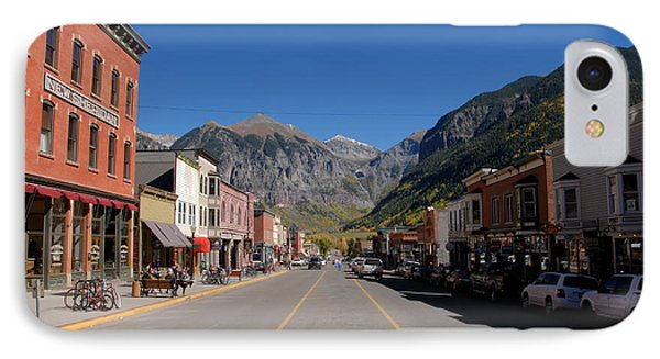 Main Street Telluride Phone Case by David Lee Thompson