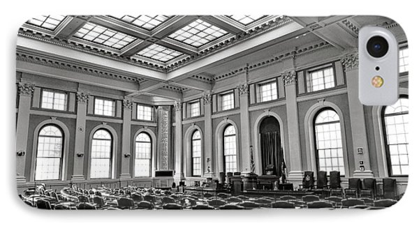 Maine Capitol House Of Representatives Chamber IPhone Case by Olivier Le Queinec