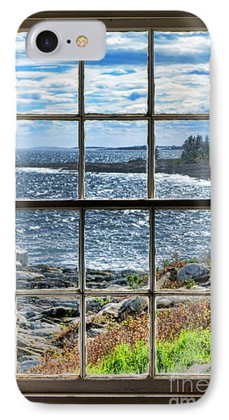 Maine Coast Picture Frame IPhone Case