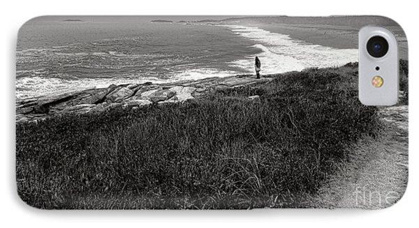 Maine Contemplation IPhone Case by Olivier Le Queinec