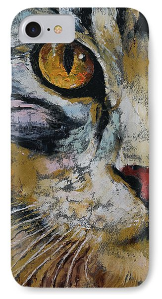 Maine Coon IPhone Case by Michael Creese