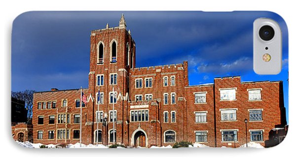 Maine Criminal Justice Academy In Snow IPhone Case by Olivier Le Queinec