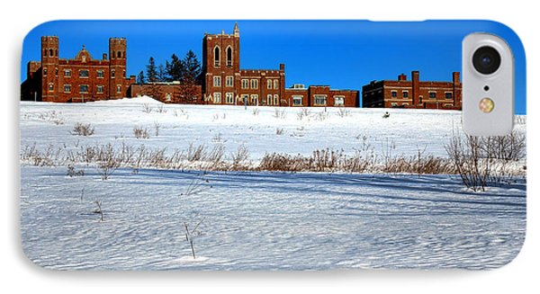 Maine Criminal Justice Academy In Winter IPhone Case by Olivier Le Queinec