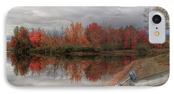 Maine Lake In Autumn IPhone Case