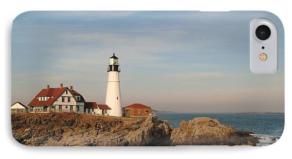 Maine Lighthouse Phone Case by Alberta Brown Buller