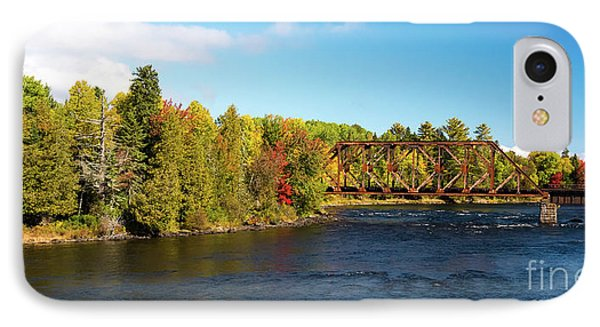 Maine Rail Line IPhone Case
