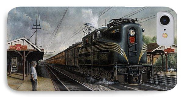 Train iPhone 7 Case - Mainline Memories by David Mittner