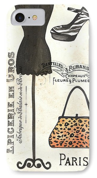 Maison De Mode 1 IPhone Case by Debbie DeWitt