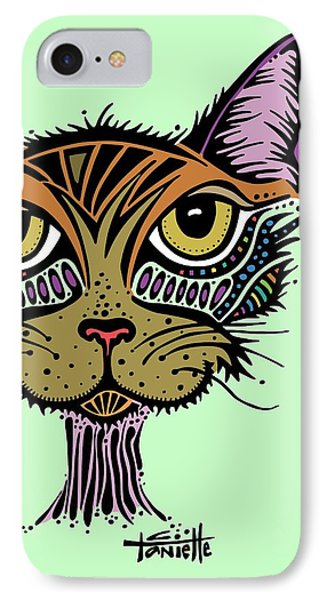 IPhone Case featuring the drawing Maisy by Tanielle Childers