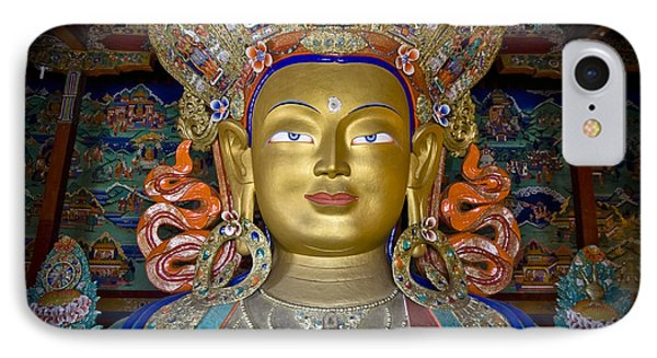 Maitreya Buddha IPhone Case by Hitendra SINKAR