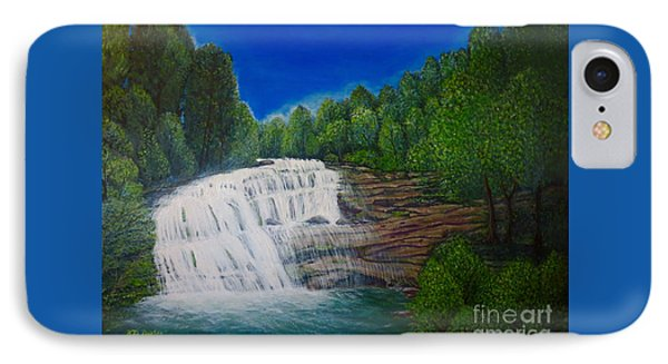 Majestic Bald River Falls Of Appalachia II IPhone Case by Kimberlee Baxter