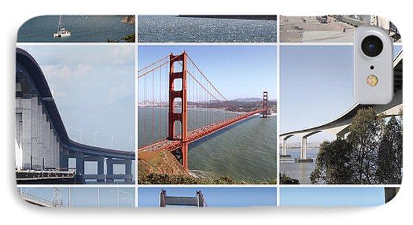 Majestic Bridges Of The San Francisco Bay Area 20150102 IPhone Case